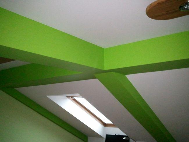 Malování přechod barev