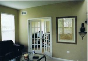 Malování domu u jezera 004
