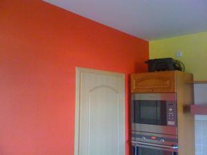 Malování rodinného domu poblíž Prahy 004