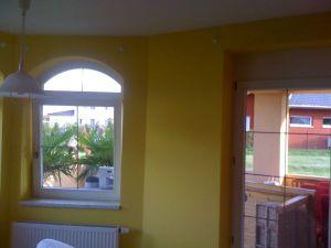 Malování rodinného domu poblíž Prahy 001