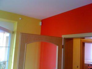 Malování rodinného domu poblíž Prahy 002