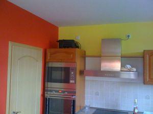 Malování rodinného domu poblíž Prahy 003