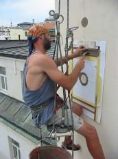 Petrovo malování - výškové práce 13