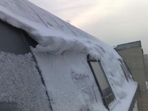 Petrovo malování - odklízení sněhu 04