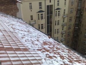 Petrovo malování - odklízení sněhu 09