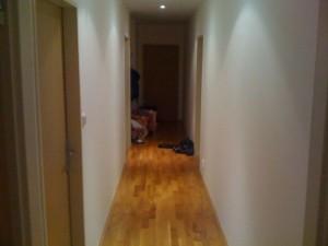 Malování velkého bytu v Praze 2