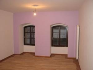 Malování domu na jihu Prahy 1