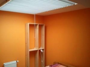 Malování ložnice nového domu v Praze 2