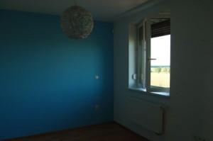 Malování ložnice v panelovém bytě v Praze 2