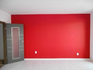 Malování obývacího pokoje v panelovém době Praha 002