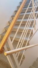 Rekonstrukce chodby se schodištěm
