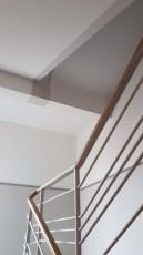 Rekonstrukce staré chodby se schodiště