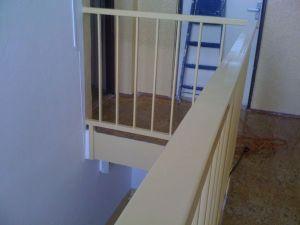Rekonstrukce chodby se schodištěm foto, Petrovo malování