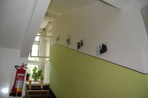 Rekonstrukce panelákové chodby